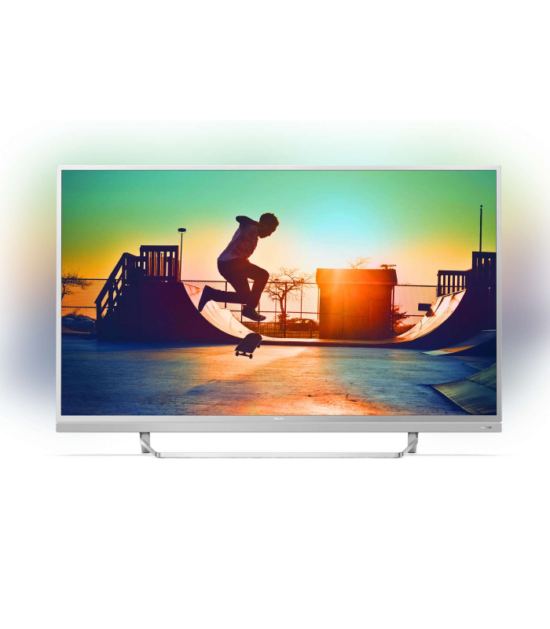 """PHILIPS 55"""" 55PUS6482/12 Smart LED 4K Ultra HD Android Ambilight digital LCD TV"""