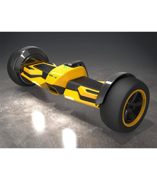 Gyroor GF1 Formula One Hoverboard Yellow