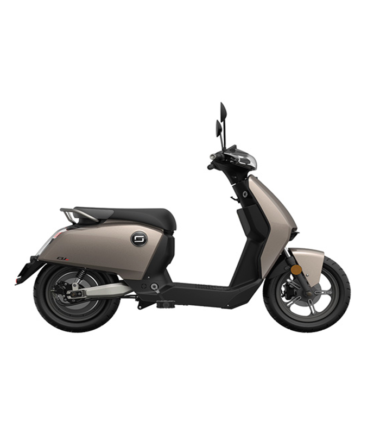 Super Soco CUX Electric Motorcycle Silver