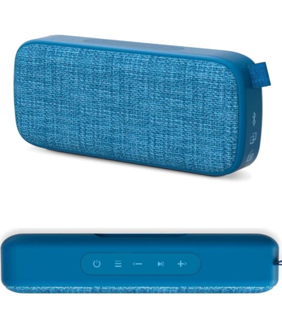Prenosni zvučnik - ENERGY SISTEM Energy Fabric Box 3+ Bluebary portable BT zvučnik
