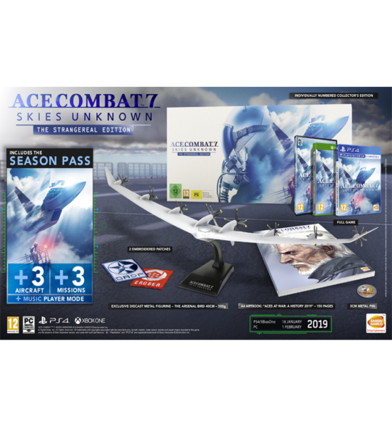 PC Ace Combat 7 Collectors Edition