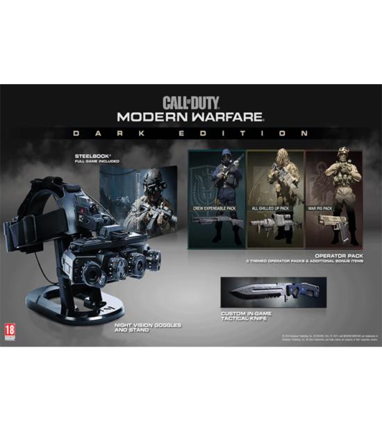 PS4 Call of Duty: Modern Warfare Dark Edition