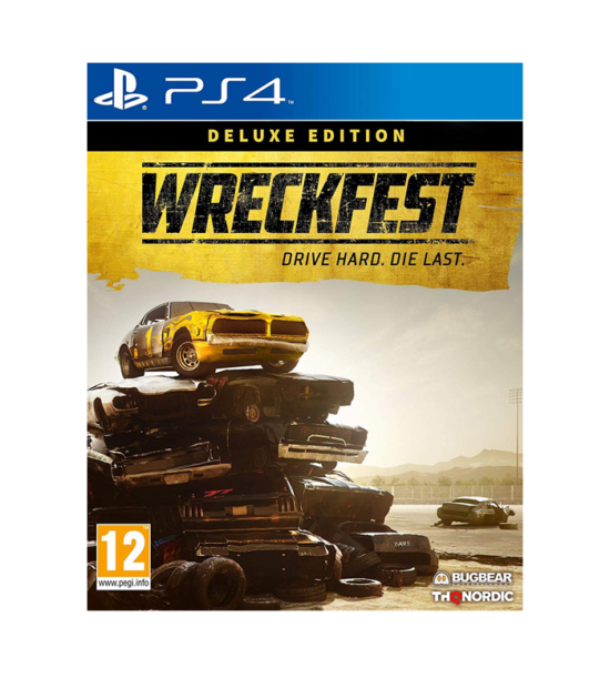 PS4 Wreckfest Deluxe Edition