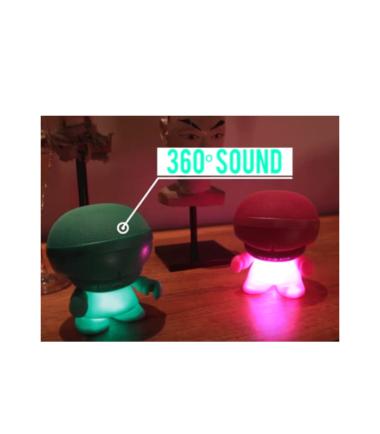 XBOY GLOW - Wireless Bluetooth Speaker Mint