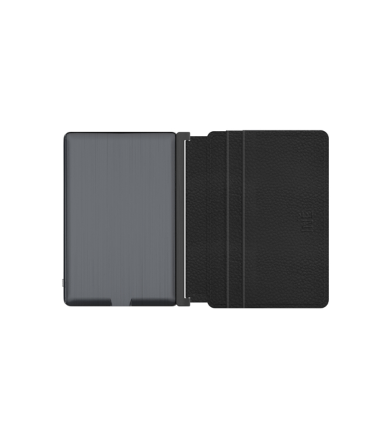 INE - Wallet & Charger - Leather Black