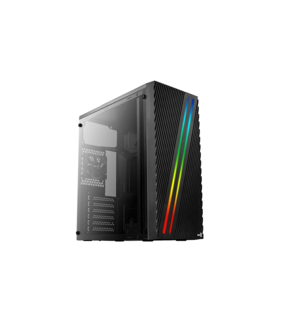 Streak Acrylic side panel Computer Case Black