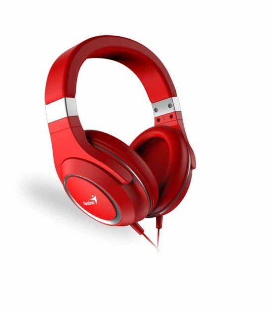 GENIUS HS-610 crvene slušalice sa mikrofonom