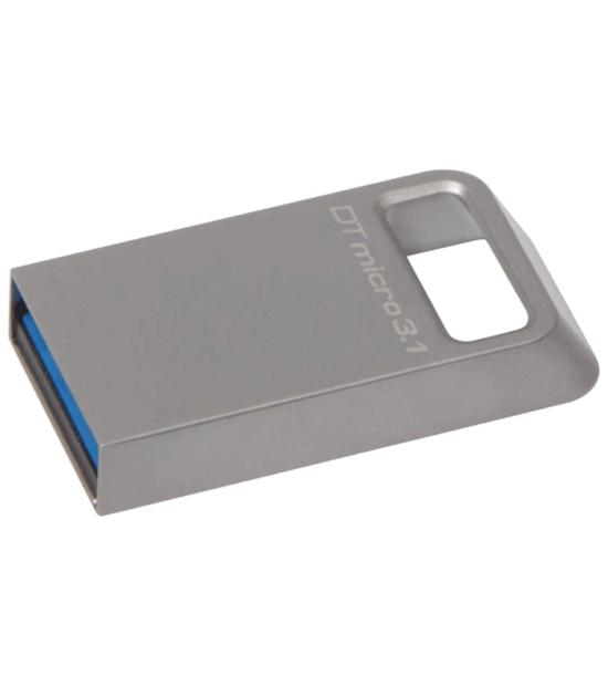 KINGSTON 128GB DataTraveler Micro USB 3.1 flash DTMC3/128GB srebrni