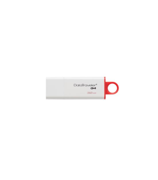 KINGSTON 32GB DataTraveler I Generation 4 USB 3.0 flash DTIG4/32GB crveno-beli