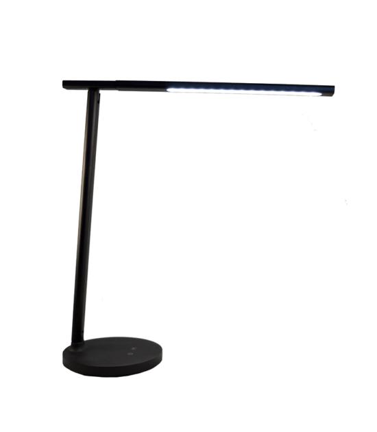 Elegant Aluminium LED Stona lampa crna 7W