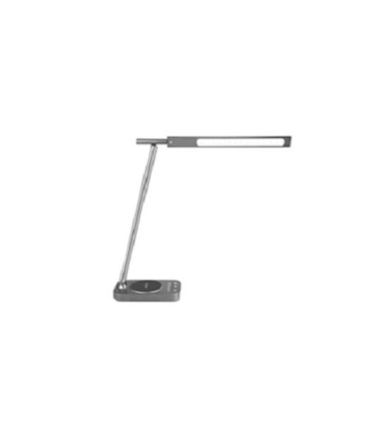 LED Elegant Desk Lamp 8W Black - Wireless Charger