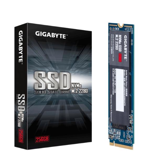 GIGABYTE 256GB M.2 PCIe Gen 3 x4 NVMe GP-GSM2NE3256GNTD SSD