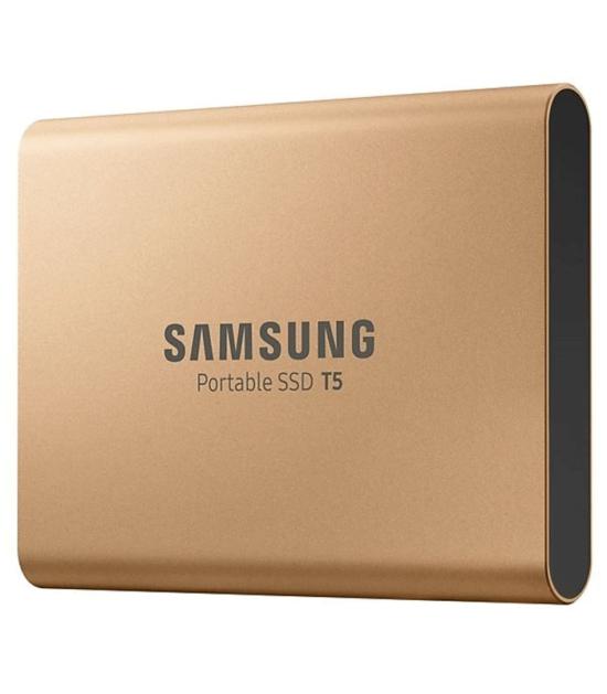 SAMSUNG Portable T5 500GB zlatni eksterni SSD MU-PA500G