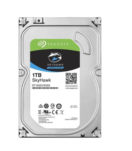 """SEAGATE 1TB 3.5"""" SATA III 64MB ST1000VX005 SkyHawk Surveillance HDD"""