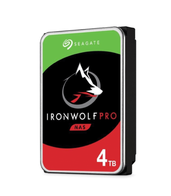 """SEAGATE 4TB 3.5"""" SATA III 128MB 7.200 ST4000NE001 IronWolf Pro"""