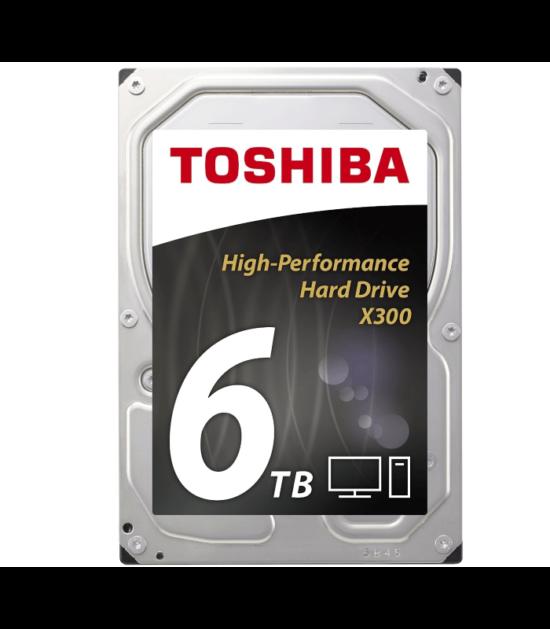 """TOSHIBA 6TB 3.5"""" SATA III 128MB 7.200rpm HDWE160UZSVA X300 series bulk"""
