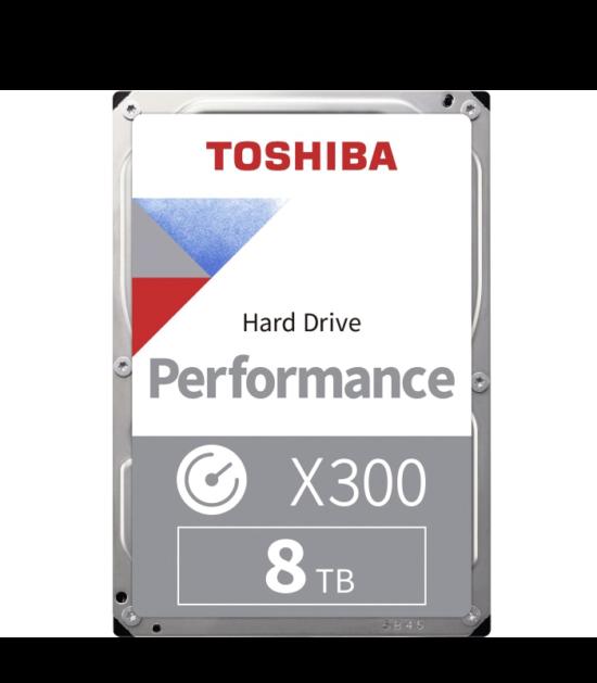 """TOSHIBA 8TB 3.5"""" SATA III 128MB 7.200rpm HDWF180UZSVA X300 series bulk"""