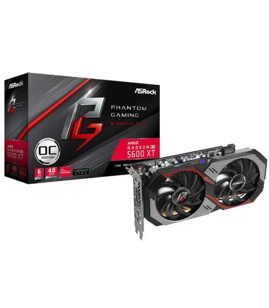 ASROCK AMD Radeon RX 5600 XT 6GB 192bit RX5600XT PGD2 6GO