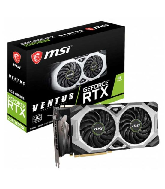 MSI nVidia GeForce RTX 2080 8GB 256bit RTX 2080 SUPER VENTUS XS