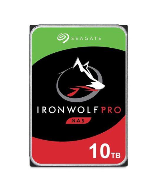 """SEAGATE 10TB 3.5"""" SATA III 256MB 7.200 ST10000NE0008 IronWolf Pro"""