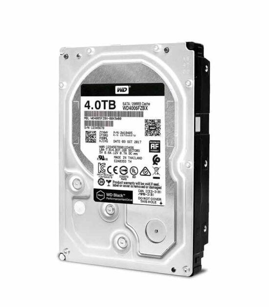 """WD 4TB 3.5"""" SATA III 256MB 7.200rpm WD4005FZBX Black"""