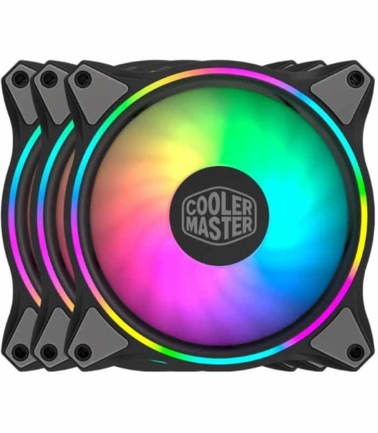 COOLER MASTER MasterFan MF120 Halo 3IN1 ventilator