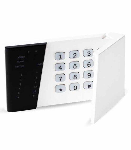 ELDES EKB3 LED numerička tastatura bela za Čamce jahte Garaže Kamp-prikolice Manji prodajni objekti