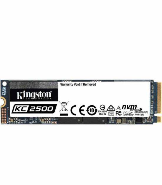 KINGSTON SSDNow disk 1TB M.2 NVMe SKC2500M8/1000G KC2500 series