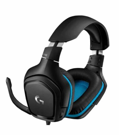 Logitech G432 7.1 gaming slušalice sa mikrofonom Surround Sound Leatherette