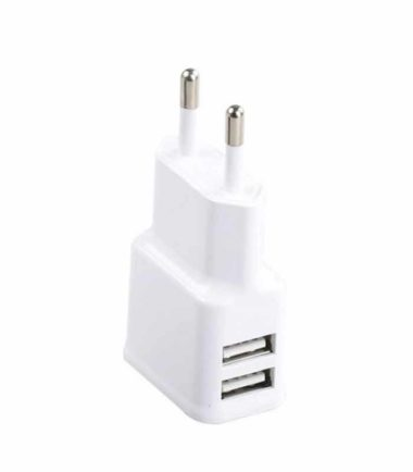 PROMATE Hype-EU USB 2.1 dual punjač beli