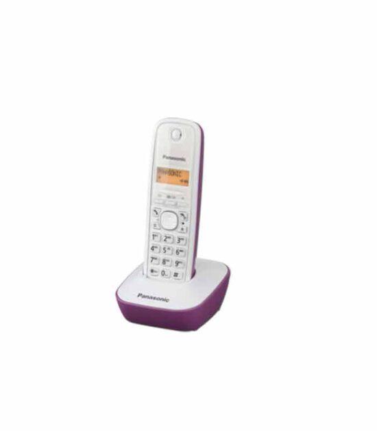 Panasonic bežični telefon KX-TG1611FXC ljubičasti