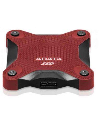Eksterni SSD A-DATA 480GB ASD600Q-480GU31-CRD crveni