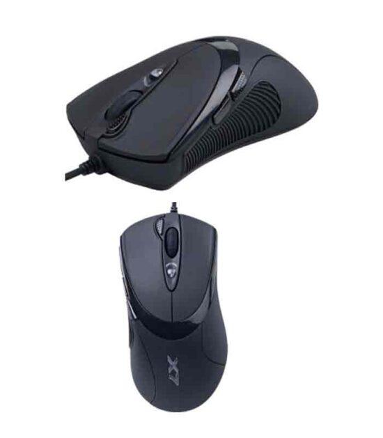 A4 TECH X-748K X7 Oscar Optical 3xFire USB crni gaming miš