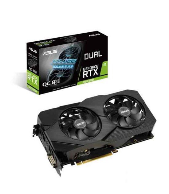 ASUS nVidia GeForce RTX 2060 SUPER 8GB 256bit DUAL-RTX2060S-O8G-EVO-V2