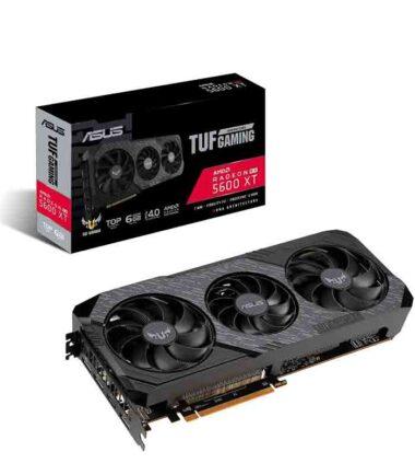 Grafička karta ASUS AMD Radeon RX 5600 XT EVO 6GB 192bit TUF 3-RX5600XT-T6G-EVO-GAMING