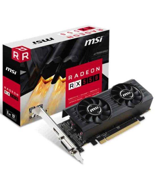 Grafička karta MSI AMD Radeon RX 550 2GB 128bit RX 550 2GT LP OC