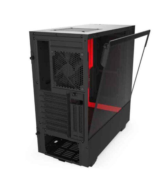 NZXT H510i SMART kućište crno-crveno