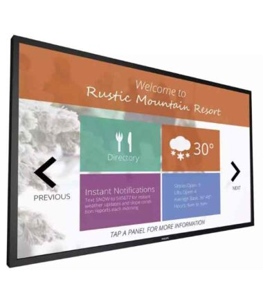"PHILIPS 55BDL4051T/00 55"" Signage Solutions Multi-Touch Full HD Display Android"