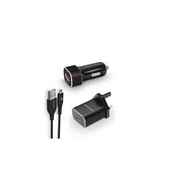 PROMATE UNIGEAR-QC3 USB-C punjač za automobil
