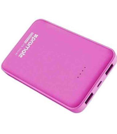 Prenosna baterija PROMATE VolTag-10 Power Bank 10000mA pink