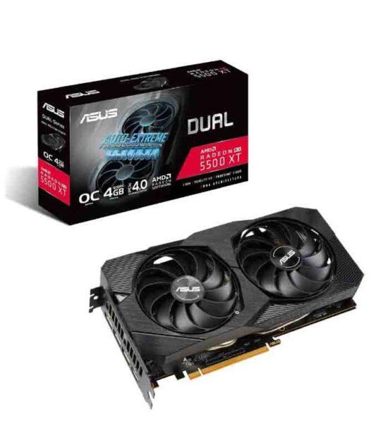 ASUS AMD Radeon RX 5500 XT 4GB 128bit DUAL-RX5500XT-O4G-EVO