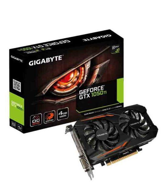 GIGABYTE nVidia GeForce GTX 1050 Ti 4GB 128bit GV-N105TOC-4GD rev.1.1