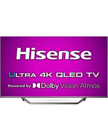 "HISENSE 65"" 65U7QF ULED Smart LED 4K Ultra HD digital TV G"