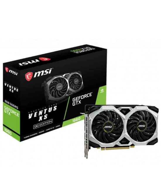 MSI nVidia GeForce GTX 1660 6GB 192bit GTX 1660 VENTUS XS 6G OC