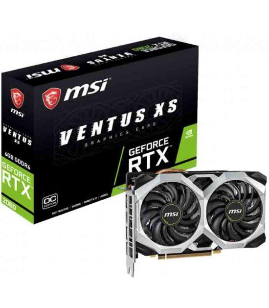 MSI nVidia GeForce RTX 2060 6GB 192bit RTX 2060 VENTUS XS 6G OC