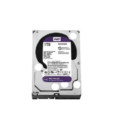 """WD 1TB 3.5"""" SATA III 64MB IntelliPower WD10PURZ Purple"""