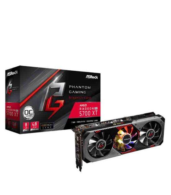 ASROCK AMD Radeon RX 5700 XT 8GB 256bit RX5700XT PGD 8GO