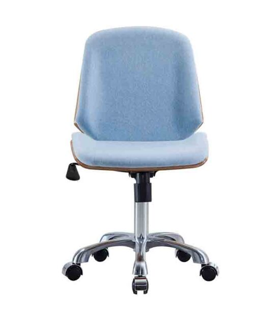 Kancelarijska fotelja Nordic Hrast/Plava
