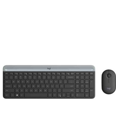 LOGITECH MK470 Wireless Desktop YU Graphite tastatura + miš