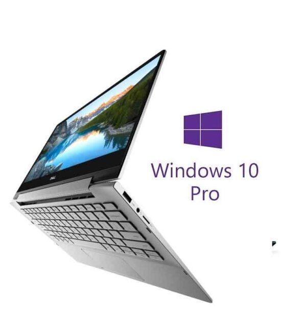 """DELL Inspiron 7391 2-u-1 13.3"""" FHD Touch i7-10510U 8GB 512GB SSD Backlit Win10Pro srebrni"""